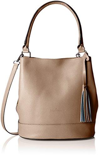 Bags4Less Damen Aliyah Schultertasche, Braun (Taupe), 15x30x30 cm