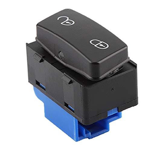 Auto Türschlossschalter Zentralverriegelung Schalter Türschlossentriegelungsschalter Bedienknopf für Caddy Touran 1T0962125B