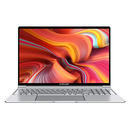 """TECLAST F15 Ordenador Portátil 15.6"""" Notebook Laptop Ultradelgado 8GB RAM 256GB SSD Window 10, 41800mWh Batería Grande, WiFi+ Bluetooth + USB3.0 + HDMI + Teclado Iluminado"""