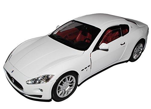 Maserati GT Gran Turismo Coupe Weiss Ab 2007 1/18 Motormax Modell Auto