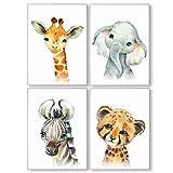 Pandawal Wandbilder Kinderzimmer/Babyzimmer Bilder für