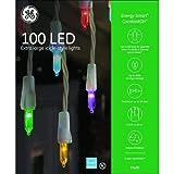 GE Energy Smart 100 Extra Large LED 7mm Multicolor LED Icicle Mini Christmas Light Set