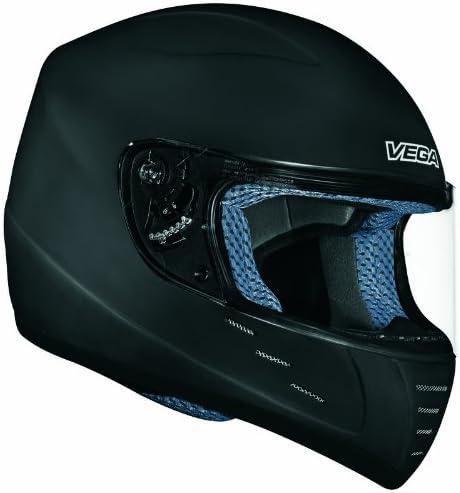 Vega Trak Junior Full Face Karting Helmet Flat Black X Large product image