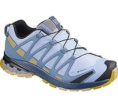 Salomon XA Pro 3D v8 GTX W, Zapatillas de Trail Running para Mujer, Azul (Kentucky Blue/Dark Denim/Pale Khaki), 36 EU: Amazon.es: Zapatos y complementos