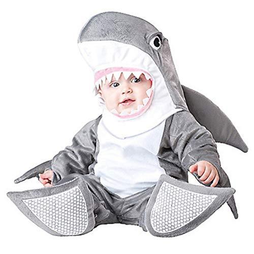Gaga city 3PCS Bebé Cálido Mamelucos Animales Disfraz De Carnaval Halloween Mono + Sombrero + Cubrepies Ropa Abrigo Unisex 6-30 Meses