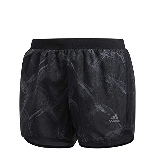 adidas Damen Laufshort Marathon M20 Fences Grey Four F17/carbon/black M/3-Inch