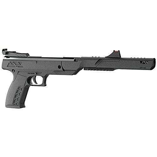 Benjamin PBN17 Trail Mark II .177-Caliber Nitro Piston Break Barrel Hunting Air Pistol, Black