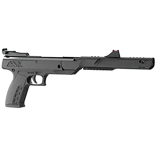Benjamin PBN17 Trail Mark II .177-Caliber Nitro Piston Break Barrel Hunting Air Pistol, Black