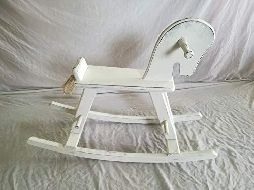 LA IBERICA Wooden Rocking Horse Antique Style