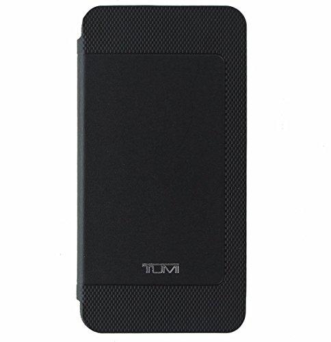 Tumi Genuine Leather Folio Case Cover for Samsung Galaxy Note 5 - Black