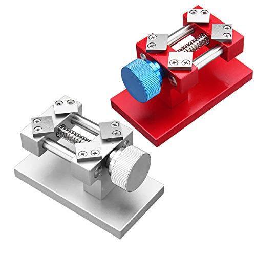 feichang Other Tools Werkzeug zum Entfernen von Blenden, verstellbarer Gehäuseöffner, Werkbank (Farbe: Silber)