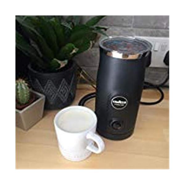 Lavazza A Modo Mio Milk Easy Frother, For Milk-based Recipe, Black