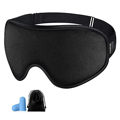 Sleep Mask for Women Men, Aldukise Sleeping Mask for Side Sleeper 3D Eye Mask for Sleeping Light...