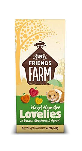 Supreme Tiny Friend Farm Hazel Lovelies Banana Strawberry Treat for Hamster 4.2z