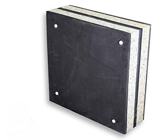 Stronghold Schaumscheibe Black Superstrong bis 70lbs (60x60x20 cm); Zielscheibe für Pfeil und Bogen, Zubehör Bogenschießen, Bogensport