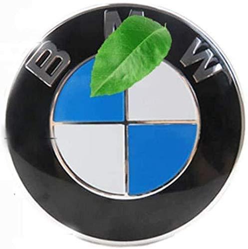 YANQIN para E82 E30 E36 E46 E90 1 3 5 6 7 X Z 4 Piezas Tapas Centrales, Tapacubos Pegatinas Wheel Logotipo Casquillos Hub Caps AutomóViles Accesorios Cubo Coche ProteccióN NeumáTicos
