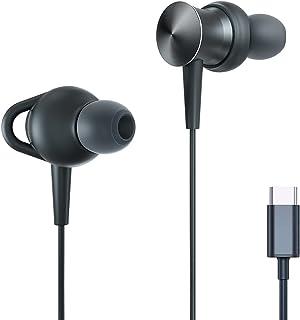USB C Headphone SUMWE Type C Earphone Hi-Fi Immersive Bass Sound Metal Earbuds with MEMS Microphone for Samsung Galaxy S2...