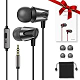 In-Ear Headphone High Definition Noise Isolating Earphones Pure Sound Wired Earbuds with Deep