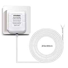 WIDELY USE: US power cable Powers your popular smart thermostats((Nest, Ecobee, Honeywell, Sensi) and doorbells(Ring Video Doorbell, Ring Video Doorbell 2 & Ring Video Doorbell Pro,Nest Skybell , etc.) and other devices that require constant 24 volt ...