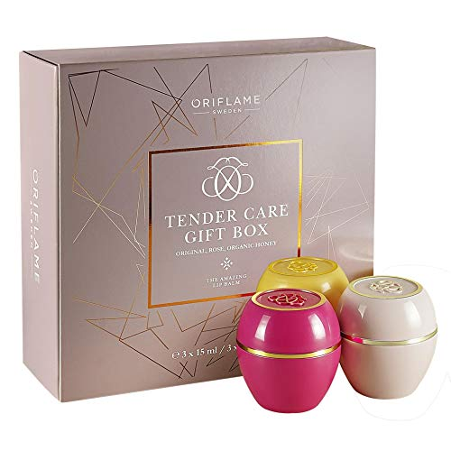 Oriflame Tender Care Multi-Purpose protéger Baume Lot de boîte cadeau Tender Care Boîte cadeau