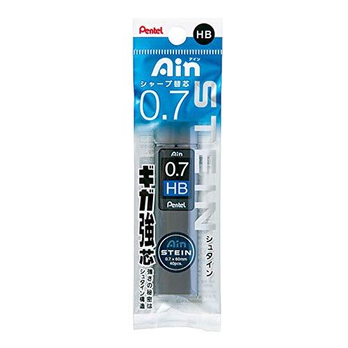 ぺんてる パック入りシャープペンシル替芯 Ain 替芯 シュタイン 0.7mm HB XC277-HB