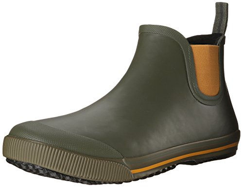 Hot Sale Tretorn Men's Strala Vinter Rain Boot,Grapeleaf/Sunflower,41 EU/8 D US