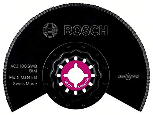 Bosch Starlock - Cuchilla con dientes ondulados bimetálicos multimaterial, ACZ 100 SWB, 100 mm