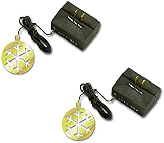 Westek 200W 3-Level Holiday Ornament Touch Dimmer, Brass/Black (6043C)