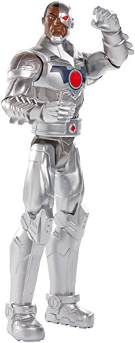 DC Comics, Cyborg, 12' Figure by Mattel