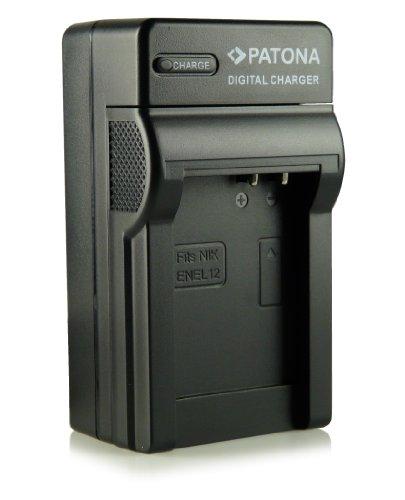 Patona EN-EL12 - Cargador 3 en 1 para Nikon CoolPix AW100, AW110, P300, P310, P330, S31, S70, S710, S610, S610c, S620, S630, S640, S800c, S1000pj, S6100, S6300, S6400, S8000, S8100, S9100, S9200, S9300, S9400, S9500 y otras