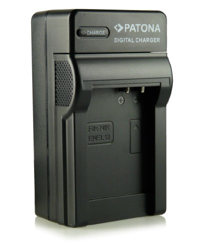3in1 Caricatore EN-EL12 per Nikon CoolPix AW100 | AW110 | P300 | P310 | P330 | S31 | S70 | S710 | S610 | S610c | S620 | S630 | S640 | S800c | S1000pj | S6100 | S6300 | S6400 | S8000 | S8100 | S9100 | S9200 | S9300 | S9400 | S9500 e più…