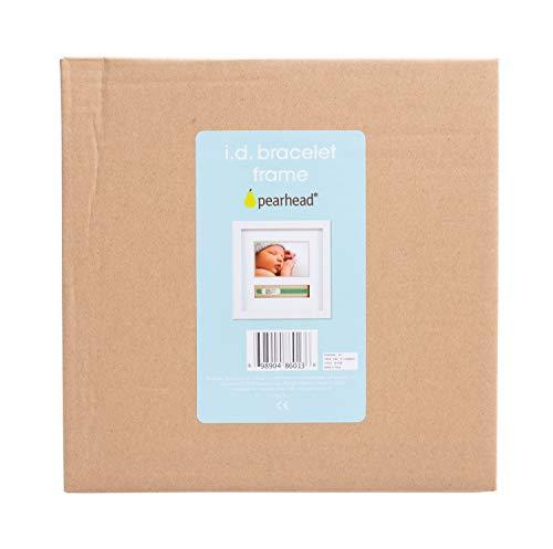 pearhead(ペアヘッド)ベビープリント・フォトフレーム記念日成長記録写真立て手形足形DIYインテリア子ども部屋マタニティーベビーギフト出産祝い内祝いホワイトNZPH86013