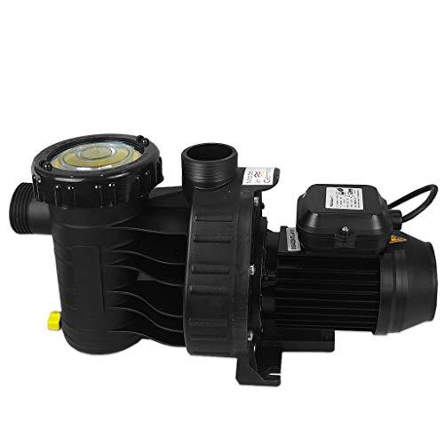 well2wellness® Selbstansaugende Pool Filterpumpe Umwälzpumpe MIDA.Wave 8 mit 8m³/h