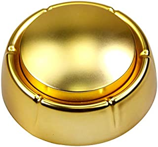 Neutral Sound Button-Voice Recording Button-Recordable Talking Button 30 Second-Answer Buzzers for Funny Novelty Office Desk Gag Gift Custom That was Easy Button (Golden)