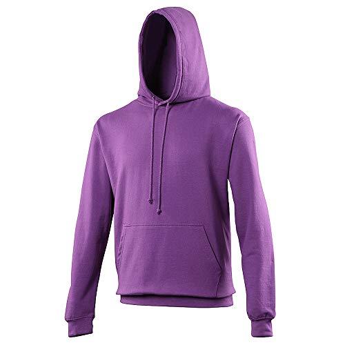 Sweat à Capuche AWDis College - Sweat-Shirt Unisexe - Magenta Magique (XS)