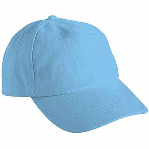 MYRTLE BEACH - Casquette visière Unie 6 Panneaux Coton - MB6111 - Bleu Aqua - Mixte Adulte