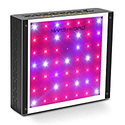 Buy MarsHydro 300W LED Grow Light Full Spectrum for Hydroponic Indoor Plants Growing Veg and Flower via Amazon