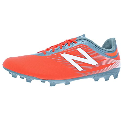 New Balance Furon 2.0 Dispatch AG, Bota de fútbol, Alpha Orange-Grey, Talla 10 US (44 EU)