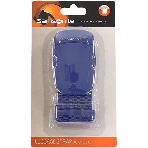 Samsonite Travel Accessor. V - Luggage Strap 3.8 cm Wide 2 Geldgürtel, Indigo Blue