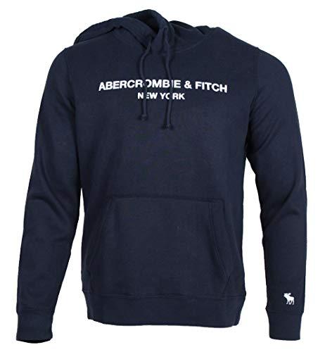 Abercrombie & Fitch Sudadera para hombre. azul marino M