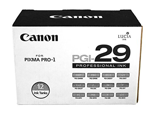 Canon PGI-29 Color 12 Pack of Ink Tanks