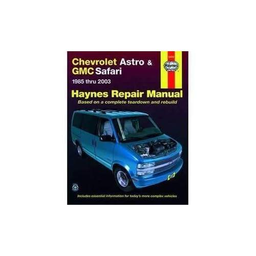 HAYNES REPAIR MANUAL for CHEVY ASTRO VAN NUMBER 24010