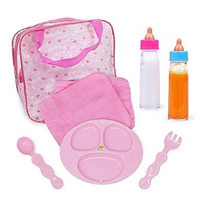 Baby Doll Feeding Care Set, Magic Juice & Magic Milk Bottles in A Bag