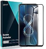 DOHUI für ASUS Zenfone 8 Panzerglas Schutzfolie, [2 Stück] 3D Curved Glas Folie, [HD Clear] [9H Festigkeit] Gehärtetes Glas Bildschirmschutzfolie Panzerglasfolie für ASUS Zenfone 8