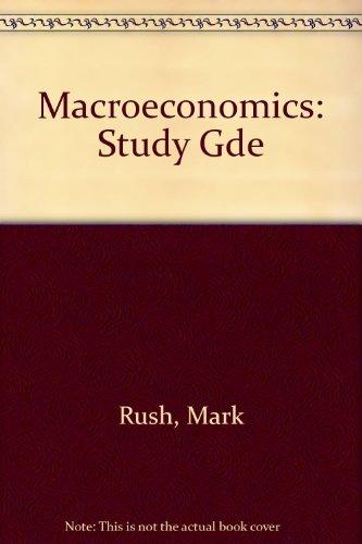 Study Gde (Macroeconomics)の詳細を見る