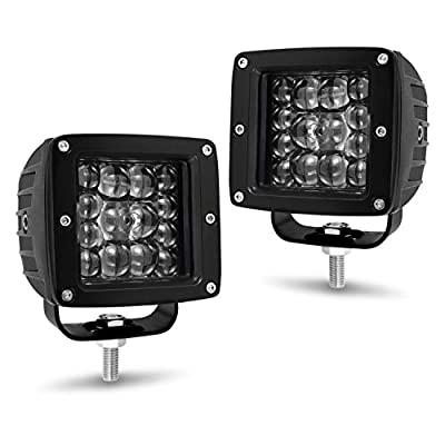 YCHOW-TECH LED Cube, 3inch CREE LED Pods Light Off Road Driving Lights Automotive Square led Work Light Square Driving Fog Waterproof Spot Flood Combo Beam for Truck ATV UTV SUV Boat