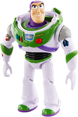Toy Story Disney Pixar True Talkers Buzz Lightyear Figure, 7″
