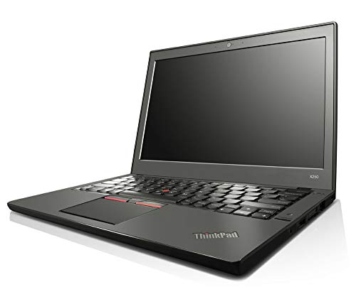 Lenovo ThinkPad X250 12,5 Zoll Intel Core i5 240GB SSD (NEU) Festplatte 8GB Speicher Windows 10 Pro Webcam Business Notebook Laptop (Zertifiziert und Generalüberholt)