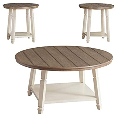 Signature Design by Ashley - Bolanbrook Farmhouse Occasional Coffee Table