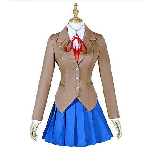 QZ Clásico de la Escuela Japonesa niñas Marinero Camisas de Vestir Uniforme Anime Cosplay Disfraces Conjunto,XXXL